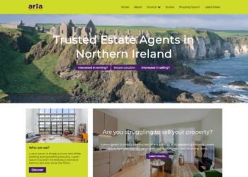 Aria Residential – Web Design