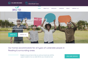 Brighter Living – Web Design