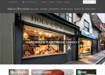 Holy Cow Home – Web Design