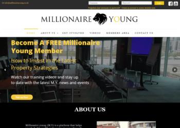 Millionaire Young – Web Design