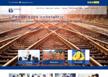 Pendersons – Web Design