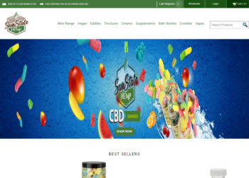 Sun State Hemp – Web Design