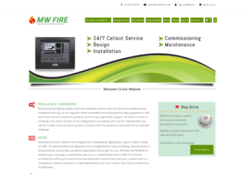 MW Fire – Web Design