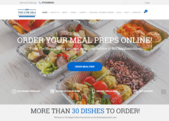 The Gym Deli – Web Design