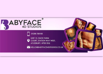 Baby Face 4D Studios – Twitter Cover Design