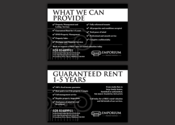 Emporium Property Services – Leaflet Design