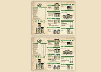 Sun State Hemp – Leaflet Design
