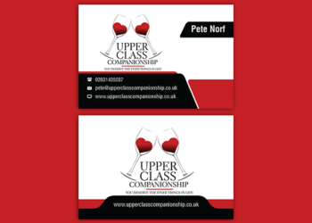 Upper Class – Business Card Design